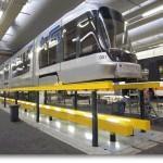 Smarowanie wrzecion w systemach podnoszenia podłogowego w pociągach